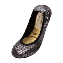 Cocorose London Barbican diamond foldable ballerina