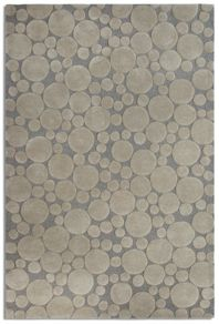Bubbles grey rug range