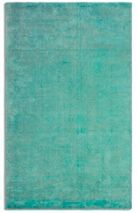 Plantation Rug Co. Oceans Wool/Viscose Distressed - 120x170 Emerald