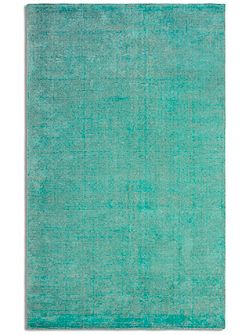 Oceans Wool/Viscose Distressed - 120x170 Emerald