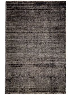 Oceans Wool/Viscose Distressed - 120x170 Black
