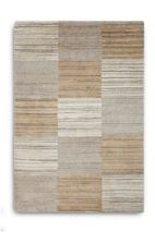 Plantation Rug Co. Simply Natural in Beige Squares 070 x 240