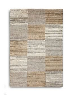 Simply Natural 100% Wool Rug - 70x240 Squares