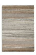 Plantation Rug Co. Simply Natural in Beige Thick Stripes 120 x 170