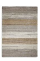 Plantation Rug Co. Simply Natural in Beige Thin Stripes 120 x 170