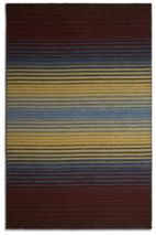 Plantation Rug Co. Undertones rug in Brown/Blue 120 x 170