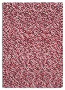 Plantation Rug Co. Beans 100% Wool Rug - 120x170 Pink/Grey