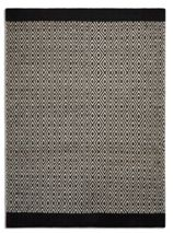 Plantation Rug Co. Belle 100% Wool Flatweave Rug - 120x170 Diamond