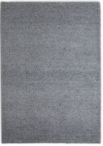 Plantation Rug Co. Loopy Viscose & Wool Rug - 150x230 Light Grey