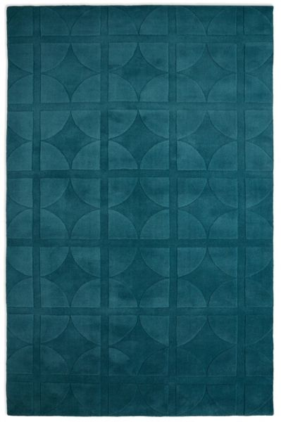 Plantation Rug Co. Universal 100% Wool Rug - 150x230 Teal