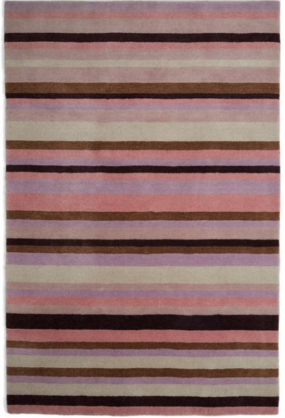 Plantation Rug Co. Ainslie Loom Knotted Wool Rug 120x180 Pink
