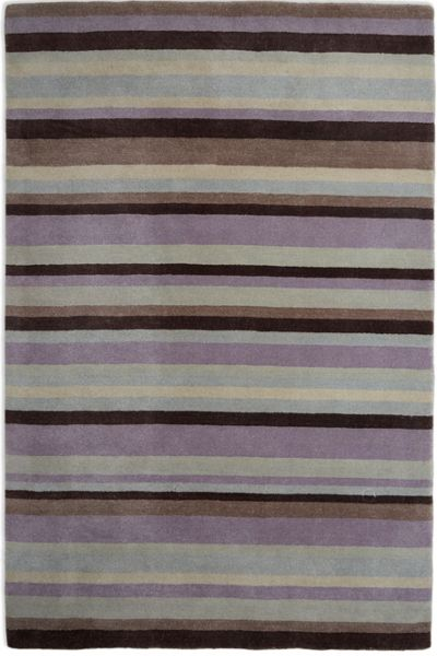 Plantation Rug Co. Ainslie Loom Knotted Wool Rug 150x240 Lilac