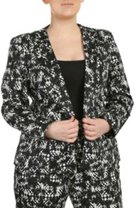 Threads Curve Collar Blazer
