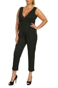 Wrap Over Jumpsuit