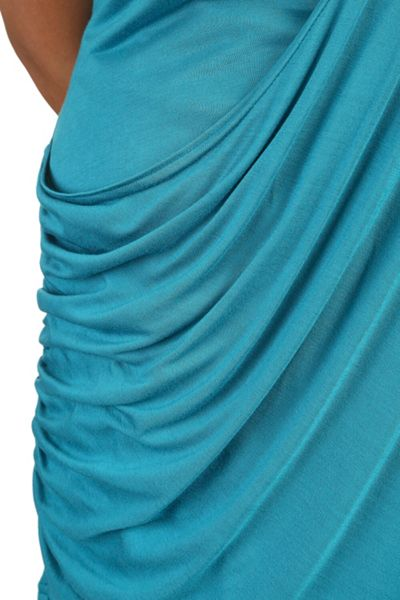 Threads Plus Size Drape Front Tee