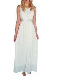 Imogen Cut Out Waist Maxi Dress