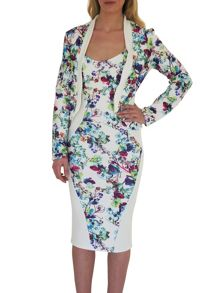 Willow Textured Floral Jacket