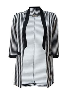 Koo-Ture Ribbed Striped Jacket