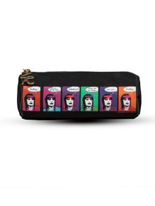Zandra Rhodes barrel cosmetic bag