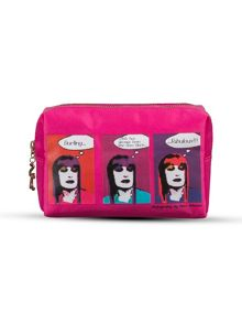 Zandra Rhodes cosmetic bag