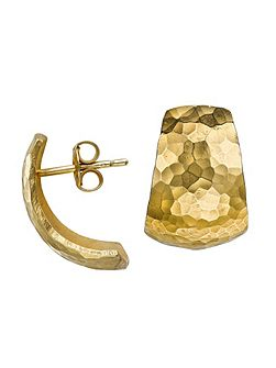 Nomad Gold Chunky Hoop Earrings