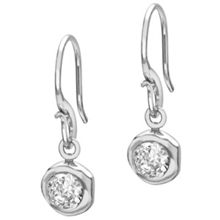 Dower & Hall Dewdrop 5mm Silver White Topaz Drops