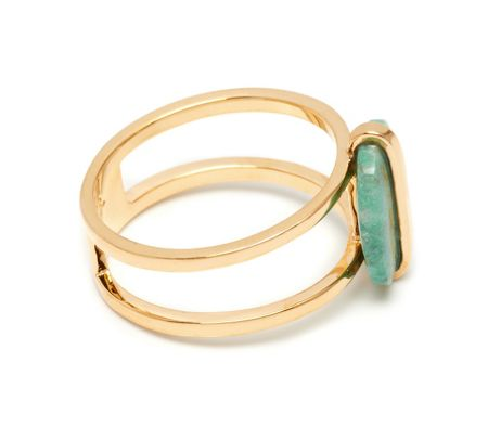 Lola Rose Bassa Mini Ring  Azurite