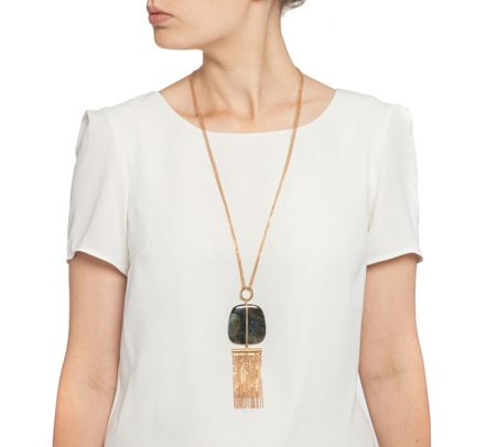 Lola Rose LRJ580670 Bassa Multi Tassel Necklace