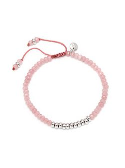 Boxed Greenwich Bracelet Pink Quartz