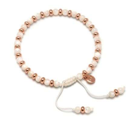 Lola Rose Compton Bracelet White Mother of Pearl