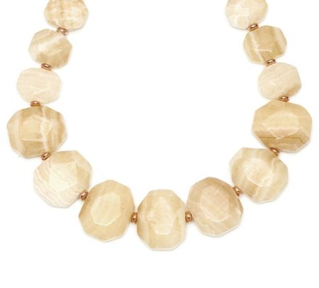 Lola Rose Elemental Chunky Necklace Vanilla