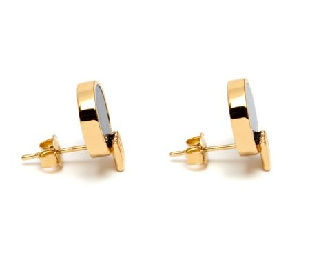 Lola Rose LRJ583398 Garbo Circle Stud Earrings