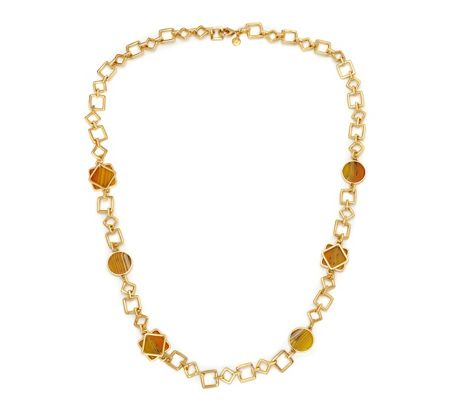 Lola Rose LRJ584173 Garbo Link Necklace