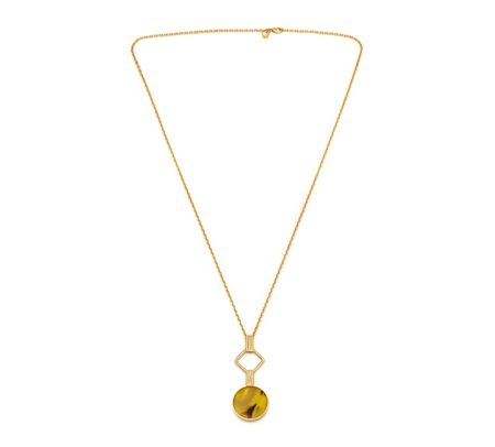 Lola Rose LRJ584159 Garbo Link Pendant Necklace