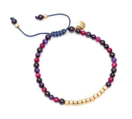 Lola Rose Marylebone Bracelet Blue Sandstone mix