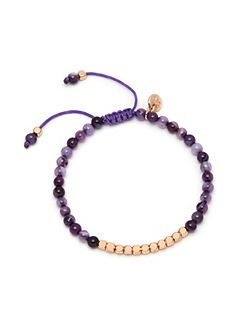 Marylebone Bracelet Purple Persian Agate