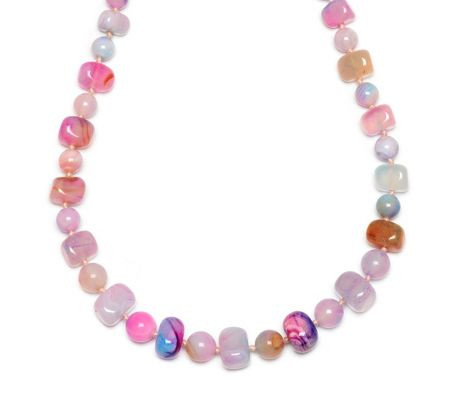 Lola Rose Mobi Necklace Candy Stripe Montana Agate