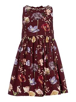 Angel & Rocket Girls Floral Print Occasion Dress