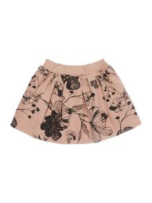 Angel & Rocket Girls Floral Print Jersey Skirt