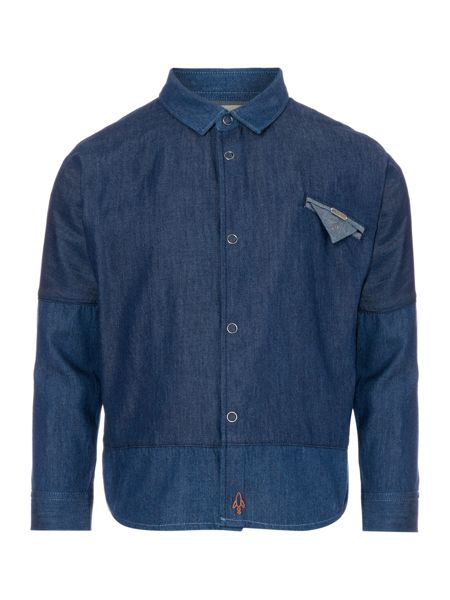 Angel & Rocket Boys Denim Long Sleeve Shirt