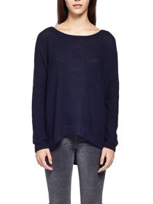 Charli Alyssa Astrakhan Feather Knit Jumper
