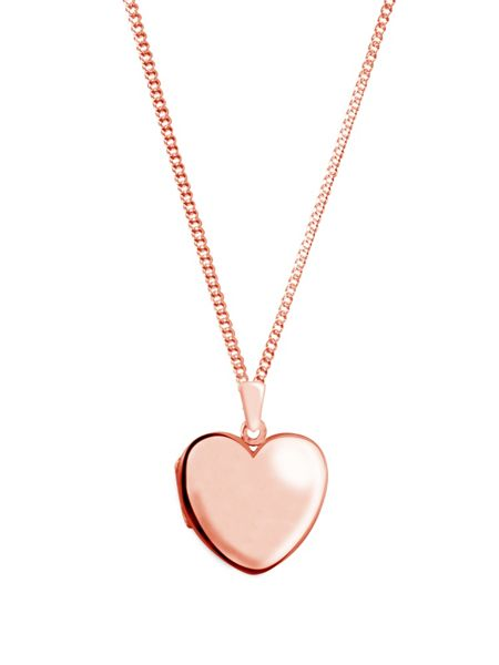 Sheenashona Rose gold heart legacy locket