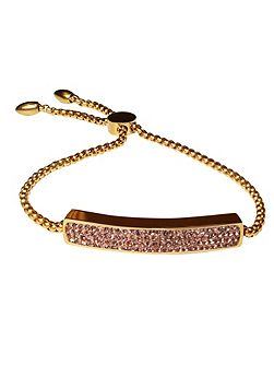 Yellow Gold Champagne Vogue Bracelet