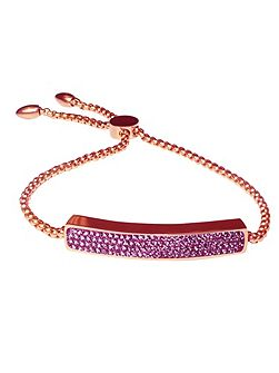 Rose Gold Purple Vogue Bracelet