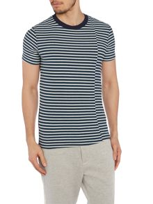 Frampton Stripe Crew Neck Slim Fit T-Shirt