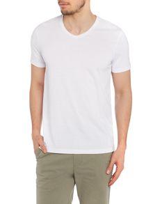 Finchley Plain V Neck Slim Fit T-Shirt