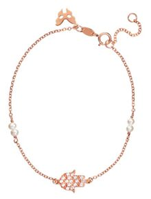 Vamp London Rose gold  hamsa  bracelet
