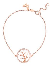 Rose gold tree of life bracelet