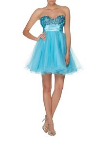 Ella luxurious tulle prom dress
