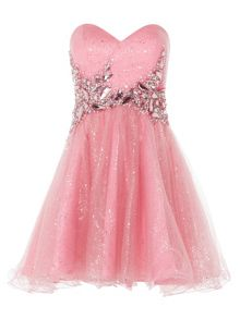 ANOUSHKA G Chloe sweatheart neck short prom dress